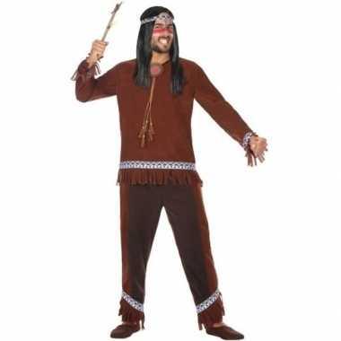 Indianen choctaw verkleed pak/verkleedkleding voor heren