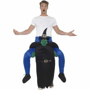 Instapverkleedkleding heks voor volwassenen