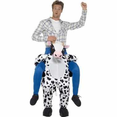 Instapverkleedkleding koe voor volwassenen
