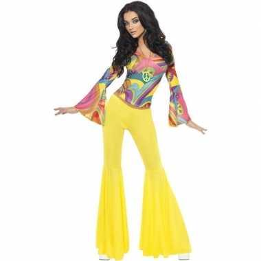 Jaren 60 70 hippie verkleedkleding voor dames