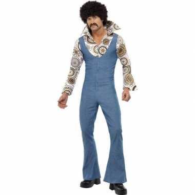 Jaren 70 disco verkleedkleding voor heren