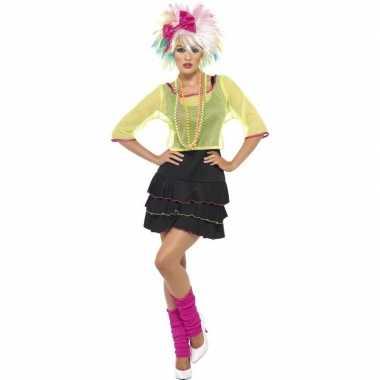 Jaren 80 verkleedverkleedkleding voor dames