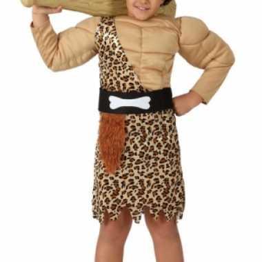 Jongens verkleedkleding holbewoner