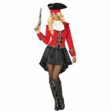 Kapitein piraat grace verkleed pak/verkleedkleding voor dames