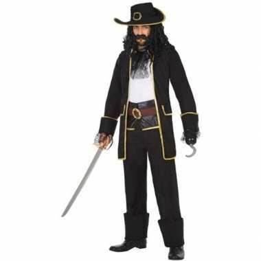 Kapitein piraat thomas verkleed pak/verkleedkleding voor heren