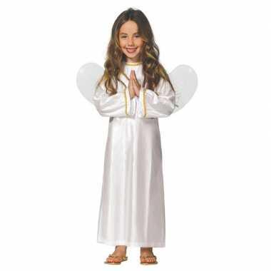 Kerst engel ariel verkleed verkleedkleding jurk voor meisjes