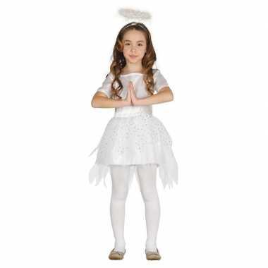 Kerst engel raziel verkleed verkleedkleding jurk voor meisjes