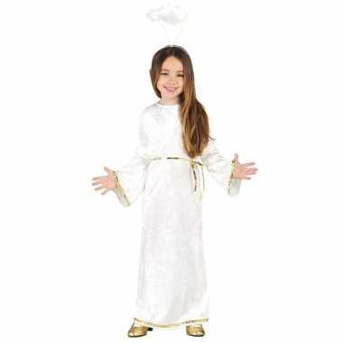 Kerst engel sariel verkleed verkleedkleding/jurk voor meisjes