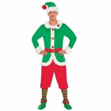 Kerstelf verkleedkleding voor heren