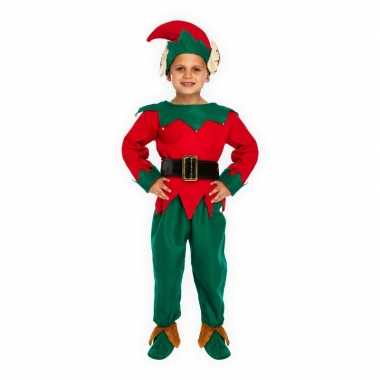 Kerstelf verkleedkleding voor kinderen