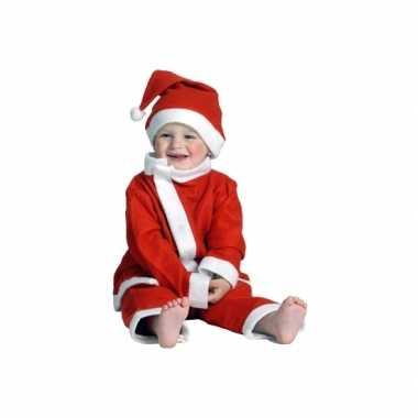 Kerstman verkleedkleding voor een peuter