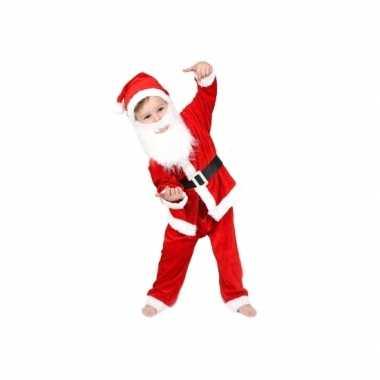 Kerstman verkleedkleding voor jongens en meisjes
