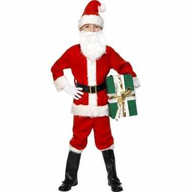 Kerstman verkleedkleding voor kinderen