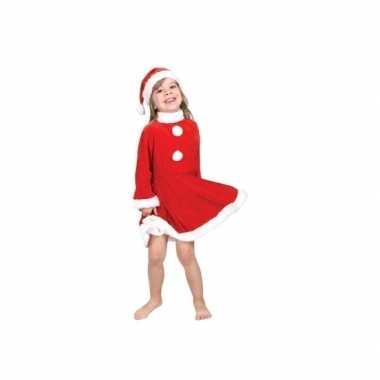Kerstman verkleedkleding voor peuters