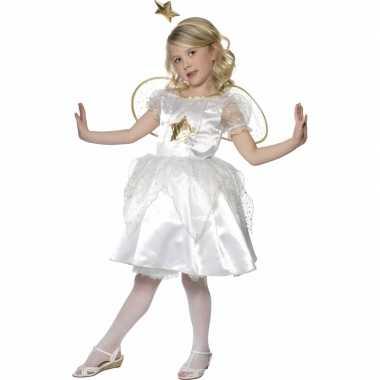 Kerststal verkleedkleding engel jurkje