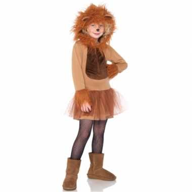 Kinder verkleedkleding leeuw