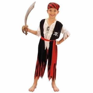 Kinder verkleedkleding piraat
