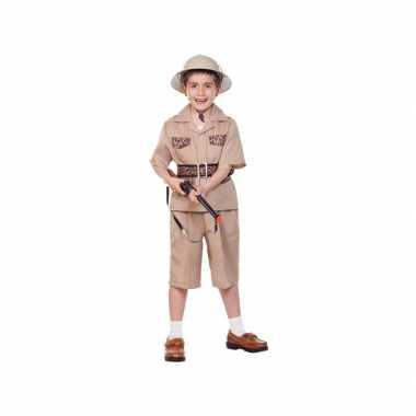 Kinder verkleedkleding safari