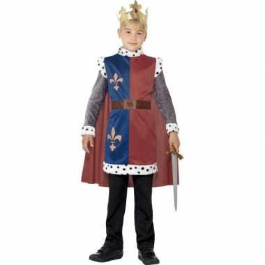 Koning arthur verkleedkleding voor kinderen