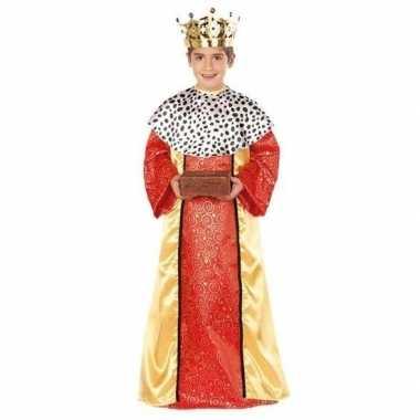 Koning melchior verkleedkleding voor jongens 3 koningen kerst verklee