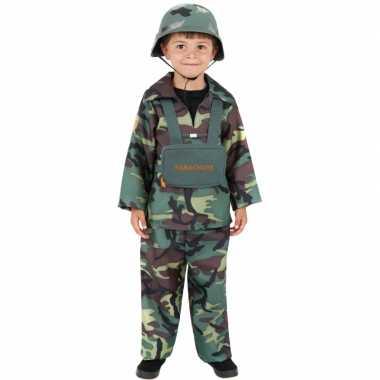 Leger verkleedkleding kinderen