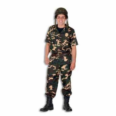 Leger verkleedkleding voor mannen