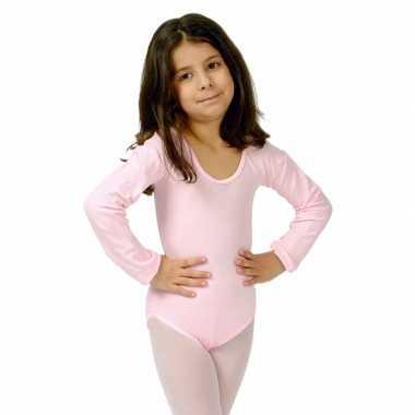 Lichtroze kinder ballet verkleedkleding
