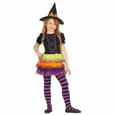 Luxe heksen verkleedkleding brujita voor kinderen