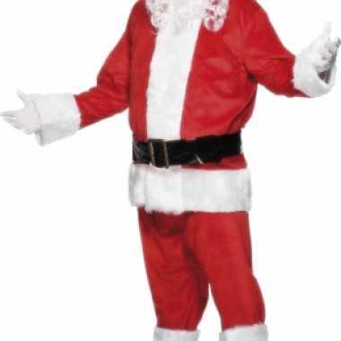 Luxe kerst verkleedkleding voor heren