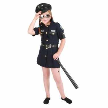 Meisjes politie jurk verkleedkleding