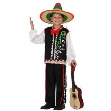 Mexicaanse senor verkleedkleding voor jongens