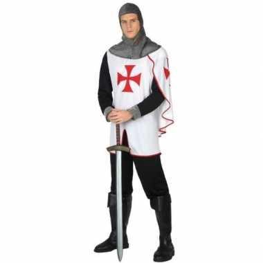 Middeleeuwse kruistocht ridder verkleed verkleedkleding voor heren