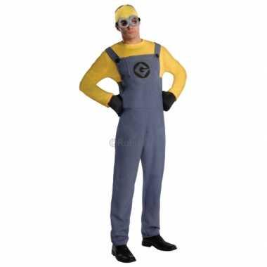 Minion verkleedkleding voor heren geel