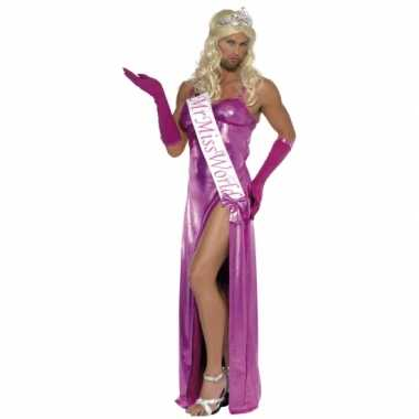 Miss world verkleedkleding heren