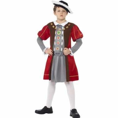 Musketier verkleedkleding voor jongens