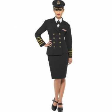 Navy officiers verkleedkleding voor dames
