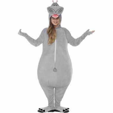 Nijlpaard gloria verkleedkleding voor kinderen