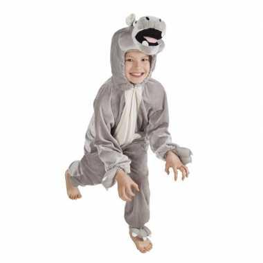 Nijlpaard verkleedkleding voor kinderen