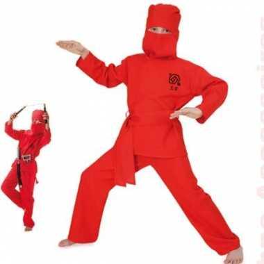 Ninja verkleedkleding voor kinderen