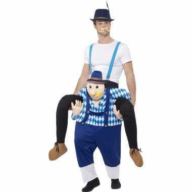 Oktoberfest verkleedverkleedkleding man op bayerische man