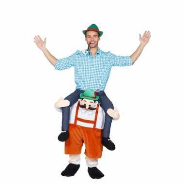 Oktoberfest verkleedverkleedkleding man op tiroler