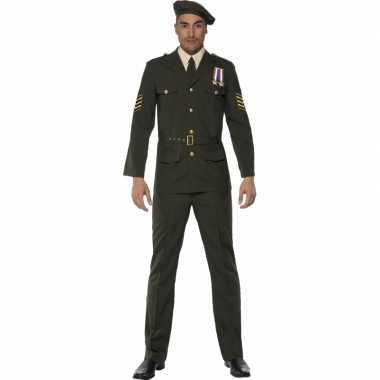 Oorlog officier verkleedkleding