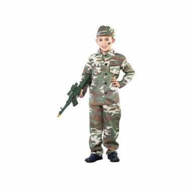 Oorlogje spelen verkleedkleding voor jongens