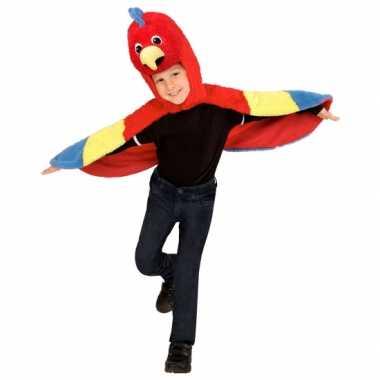 Papegaai verkleedkleding voor peuters