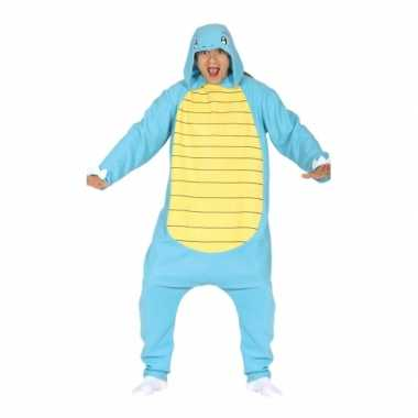Party blauwe cartoon verkleedverkleedkleding voor volwassenen
