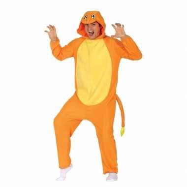 Party oranje cartoon verkleedverkleedkleding voor volwassenen