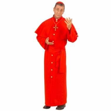 Paus verkleedkleding rood