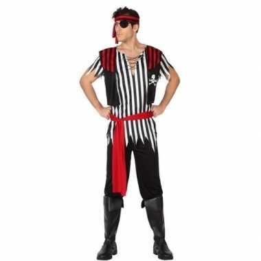 Piraat jack verkleed pak/verkleedkleding voor heren