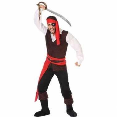 Piraat john verkleed pak/verkleedkleding voor heren