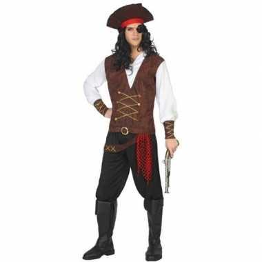 Piraat lewis verkleed pak/verkleedkleding voor volwassenen